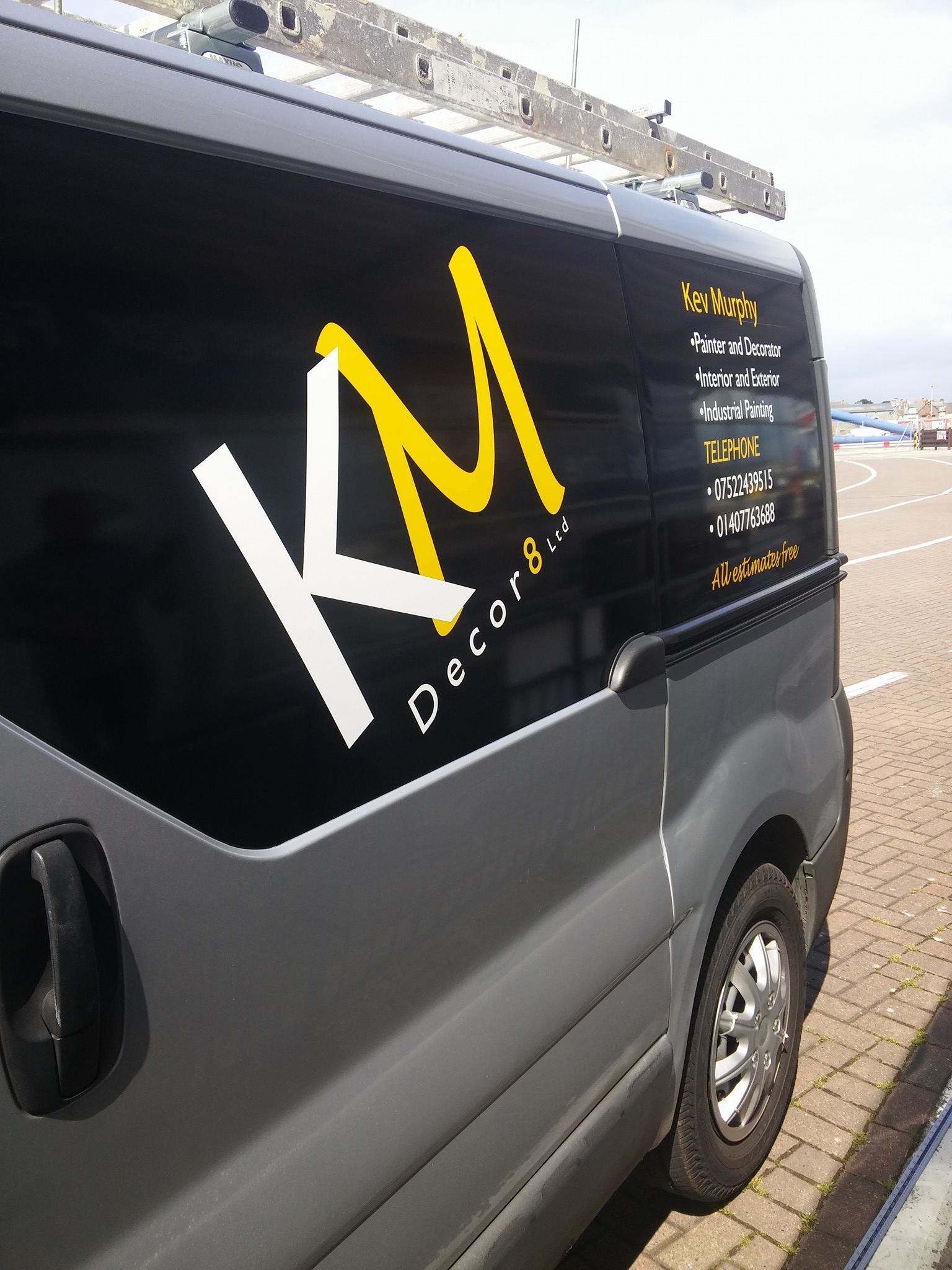 KM Decor8 Branding Project