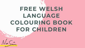 FREE WELSH COLOURING BOOK