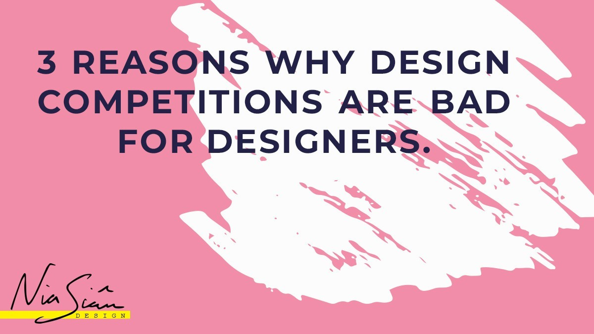 3 Reasons Why Design Competitions Are Bad For Designers